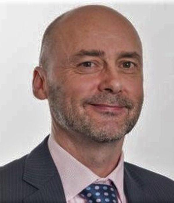 Peter Cross smiling